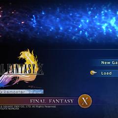 <i>Final Fantasy X HD Remaster</i> (PC).