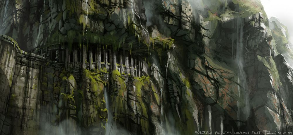 Image - Fortress - Mountain lookout post.jpg | Final Fantasy Wiki ...