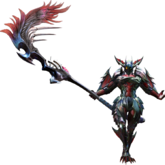 Diabolos Rage Armor in <i>Monster Hunter</i>