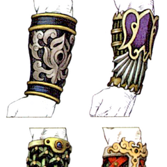Auron's bracers.