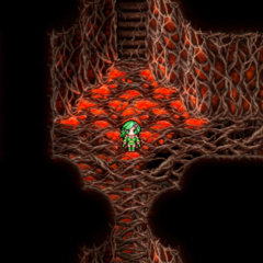 Lava damage floor (PSP).