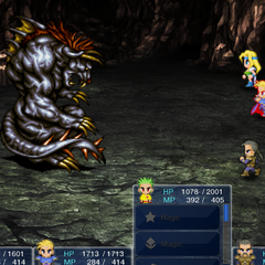 The battle in the Android/iOS version.