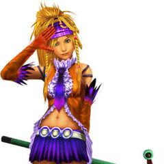 Rikku as a Songstress.