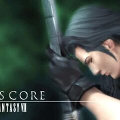 Angeal and the Buster Sword in <i>Crisis Core</i>.