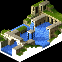 Eagrose Castle's citadel, as shown in cutscenes.