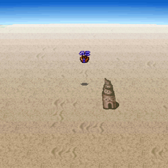Yahnikurm Desert in the <i>Origins</i> version.