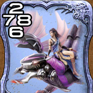 Bahamut with Fang from <i>Final Fantasy XIII</i>.