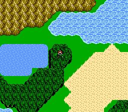 FFIII NES Chocobo Woods 6