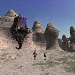 The animated maw leading to Abyssea - Attohwa.