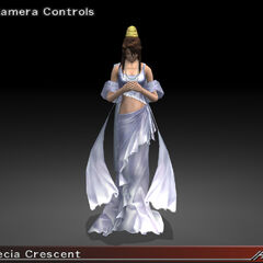 <i>Dirge of Cerberus -Final Fantasy VII-</i> character model.