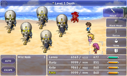 FFV iOS Level 5 Death