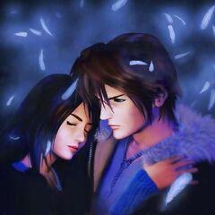 Squall and Rinoa.