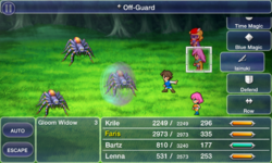 FFV iOS Off-Guard