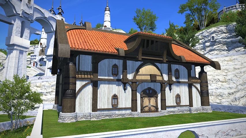 how to get on medium shirogane house roof
