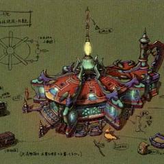 Djose Inn concept artwork.