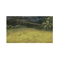 Battle Background on land (DS).