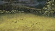 FFIV Battle Background Waterway DS