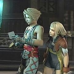 Vaan and Penelo.