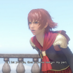 Cater in <i>Type-0 HD</i>.