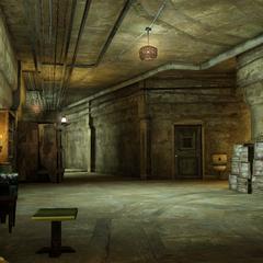 Interior of Monoculus headquarters.