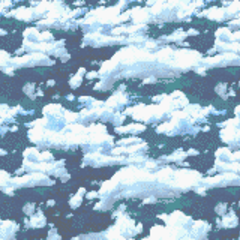Battle background in the sky (GBA).