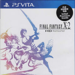 PS Vita Asian <i>Final Fantasy X-2</i>.