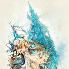Artwork of Minfilia for version 3.2 <i>The Gears of Change</i>.