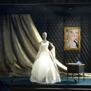 A Vivienne Westwood wedding dress in <i><a href=