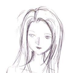 Garnet artwork by Yoshitaka Amano.
