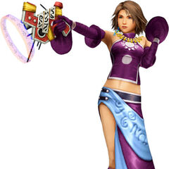 Yuna as a Gun Mage.