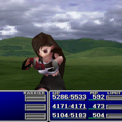 Tifa using Sense in <i><a href=