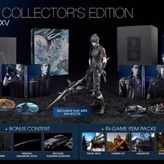 <i>Final Fantasy XV</i> Ultimate Collector's Edition.