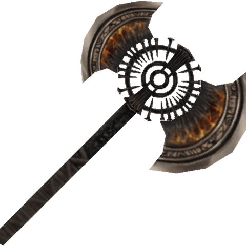 Headless's axe.
