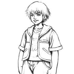 Young Tidus.