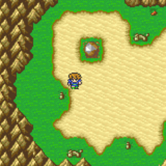 Gohn Meteorite on the world map (GBA).