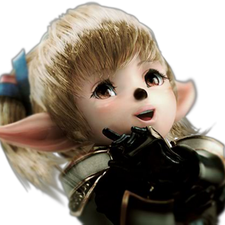 CG render of Shantotto in <i>Dissidia</i>.