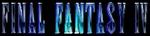 FF4 in-game logo