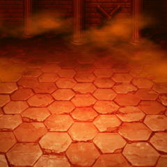 Battle background during Ifrit's attack in <i><a href=