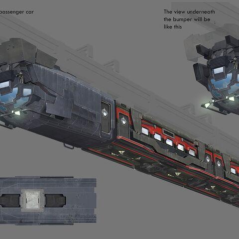 Monorail concept art.