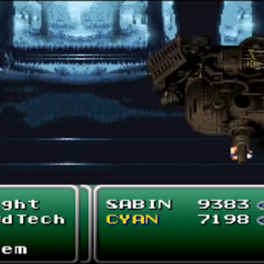 Sabin performing Suplex on the Phantom Train.
