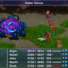 Saber Dance.