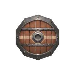 Mahogany Shield.