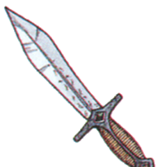 Official art of Mythril Knife from <i><a href=