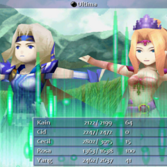 Twincast (Cecil and Rosa) <i>Final Fantasy IV</i> (PC).