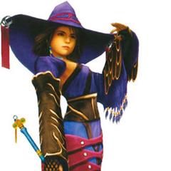 Yuna as a Black Mage.