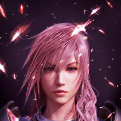 <i>Fabula Nova Crystallis</i> promotional poster for Lightning.