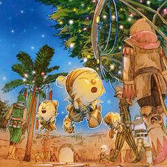 2006 Starlight Celebration artwork for <i>Final Fantasy XI</i>.