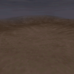 Another desert battle background on the world map.