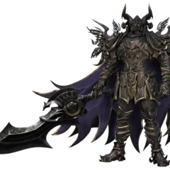 CG Render of Veritas of the Dark.