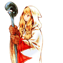 Female White Mage.